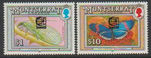 Montserrat SG 898 & 904 opt   MLH -