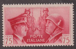 Italy 417 Adolf Hitler and  Mussolini 1941