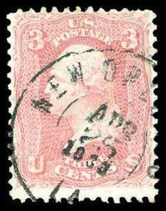 U.S. 1861-66 ISSUES 64b  Used (ID # 84214)