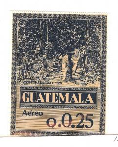 Guatemala, C789 NOTE, Coffee Production See Note Single,**MNH**