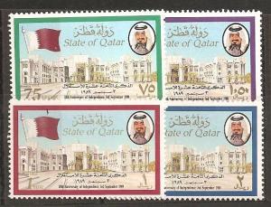 Qatar SC  729-32 Mint, Never Hinged