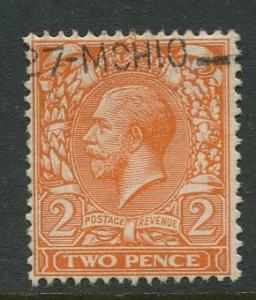 Great Britain - Scott 162 - KGV Definitive -1912 - Used - Single 2p Stamp