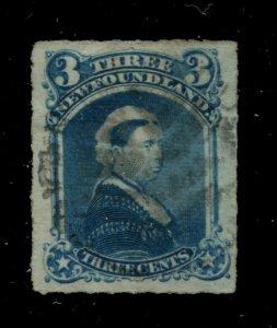 Newfoundland #39 SG 42 U VF 3c 1876-1879 Is. [N4037] CV=$20.00