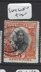 TONGA (P0605B)   5D  SG 46   VFU