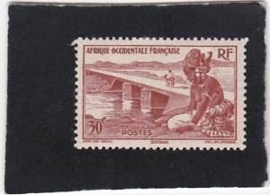 French West Africa #37  unused