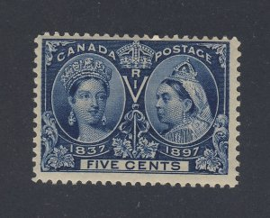 Canada Stamp #54-5c Victoria Jubilee MNH F+ Guide Value = $50.00