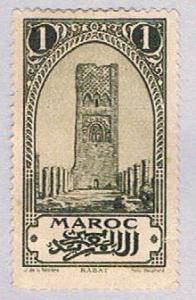 French Morocco 90 Used Tower of Hassan 1923 (BP34115)