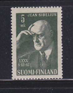 Finland 249 Set MNH Jean Sibelius, Composer (A)