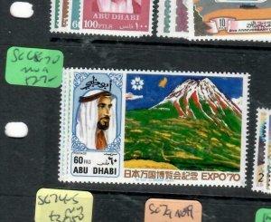 ABU DHABI (PP0403B)  SG 68-70    MOG