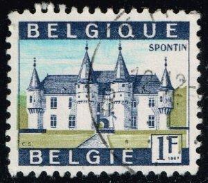 Belgium #644 Castle Spontin; Used (0.25)