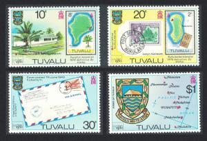 Tuvalu 'London 1980' Stamp Exhibition 4v 1980 MNH SG#143-146