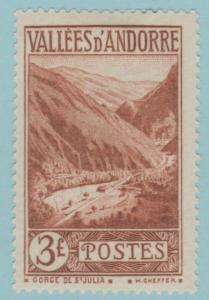 Andorre 60 Mint Hinged OG * NO FAULTS EXTRA FINE!