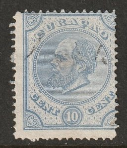 Netherlands Antilles 1881 Sc 4 used thin