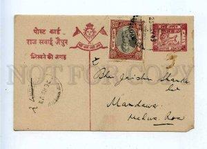 196310 INDIA JAIPUR 1943 year Vintage RPPC