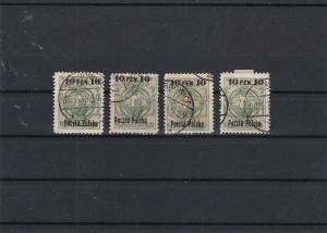 Poland 1915 Polish Eagle Stamps Ref 30422