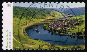 Germany #2913 Moselle River Bend; Used (1.10)