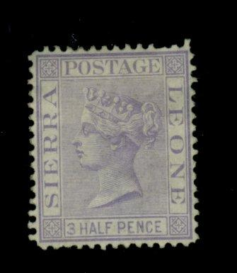 Sierra Leone #13 MINT F-VF No gum Cat$55