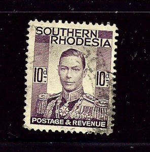 Southern Rhodesia 49 Used 1937 issue
