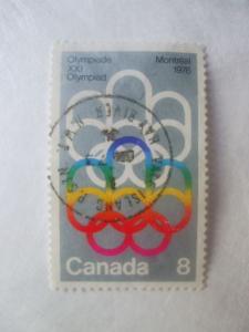 Canada #623 used