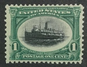 MOMEN: US #294 MINT OG **NH** POST OFFICE FRESH #31128