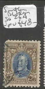 Southern Rhodesia SG 26a VFU (10cqp)