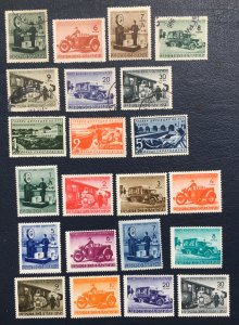 Bulgaria Stamps,1941,Sc#Q1-18,postal Track,RA16-18,