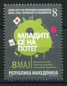 156 - MACEDONIA 2012 - Red Cross - MNH Set