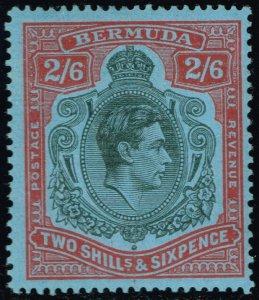 Bermuda #124a King George VI; Unused (3Stars)