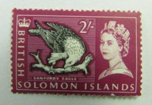 British Solomon Islands  SC#138  Sandford's Eagle  MNH stamp