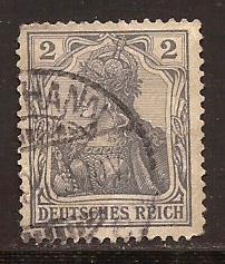 Germany  #  65 c  used .      B