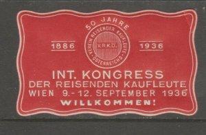 WW Cinderella stamp 8-19-9