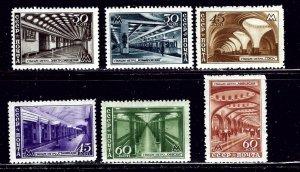 Russia 1153-58 MH 1947 set    (ap1971)