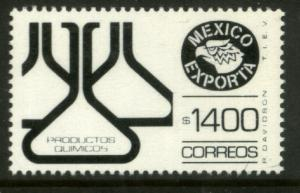 MEXICO Exporta 1593 $1400P Chemical Products Paper 10 MNH
