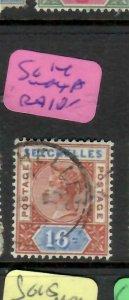 SEYCHELLES  (P2605B)  QV   16C    SG  14  INDEX A         VFU