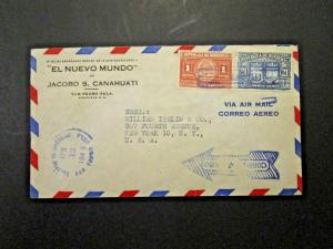 Honduras - 6 1940s / 1950s Airmail Covers - M112