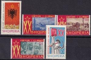 Albania #772-6  MNH CV $7.45  (Z8026)