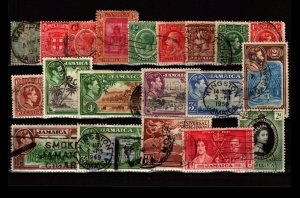 Jamaica 20 Used, with faults - C2735