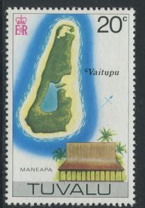 Tuvalu - Scott 31 - Pictorial Definitives -1976 - MNH - Single 20c Stamp