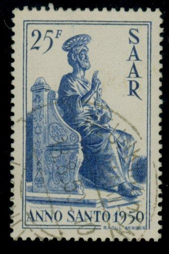 Saar #224 Used VF-XF Cat$22.50