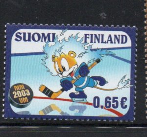 Finland Sc 1186 2003 Ice Hockey Championships stamp mint NH