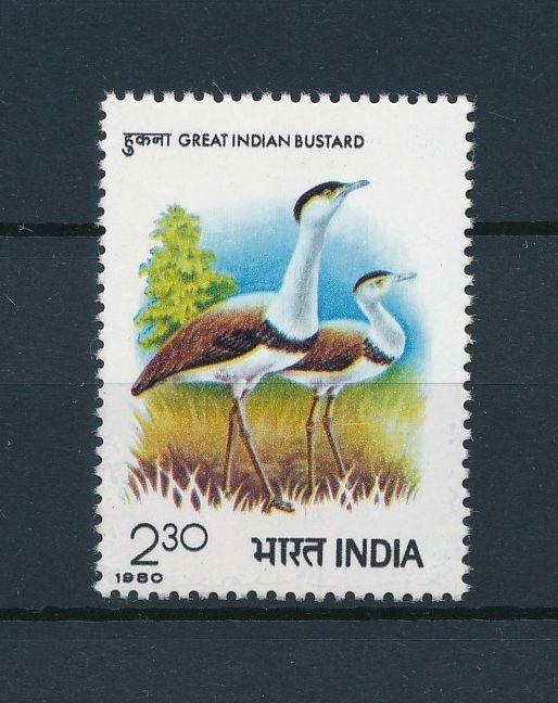 [38181] India 1980 Birds Vögel Oiseaux  MNH