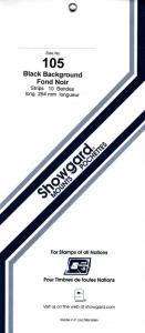 SHOWGARD BLACK MOUNTS 264/105 (10) RETAIL PRICE $16.25
