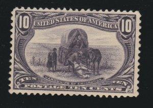 US 290 10c Trans-Mississippi Mint VF OG NH SCV $425
