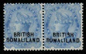 SOMALILAND SG18/18b 1903 2½a ULTRAMARINE SUMALILAND VAR MTD MINT