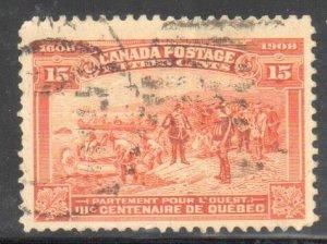Canada #102 USED F-VF C$175.00
