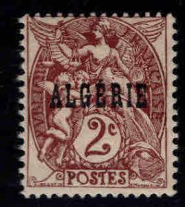 ALGERIA Scott 2 MH* stamp