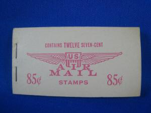 UNITED STATES  SCOTT #BKC8  - AIR MAIL BOOKLET   (NS7)