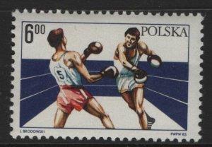POLAND, 2582, MNH, 1983, 60th anniv. of Polish boxing union