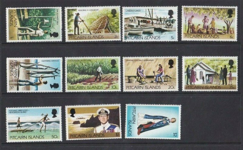 PN157) Pitcairn Islands 1977 Definitives MUH