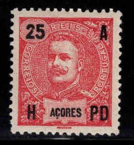 Azores Scott 105 MH* stamp